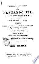Memorias historica sobre Fernando VII..., 3