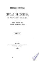 Memorias históricas de la ciudad de Zamora