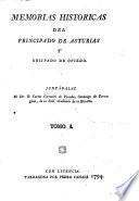 Memorias históricas del principado de Asturias y obispado de Oviedo. Juntábalas ... C. G. de P.
