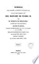 Memorias para escribir la historia contemporánea de los siete primeros años del reinado de Isabel II, 2