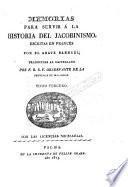 Memorias para servir a la historia del jacobinismo, 2