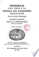 Memorias para servir a la historia del Jacovismo