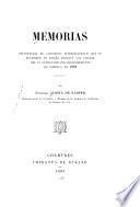 Memorias presentadas en congresos internacionales que se reunieron en España durante las fiestas del IV centenario del descubrimiento de América, en 1892