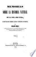 Memorias sobre la historia natural de la isla de Cuba