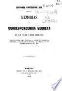 Memorias y correspondencia secreta de Luis Felipe y otros soberanos