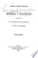 Memorias y documentos