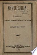 Mendelssohn, traduccion de Hermenegildo Giner