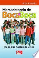 Mercadotecnia de Boca en Boca