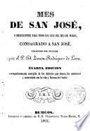 Mes de San José