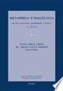 Metafísica y dialéctica en los periodos carolingio y franco (s. IX-XI)