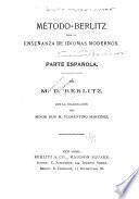 Método Berlitz para la ensenañza de idiomas modernos