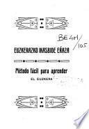 Método fácil para aprender el euzkara