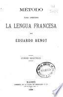 Método para aprender la lengua francesa