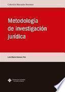 Metodología de investigación jurídica