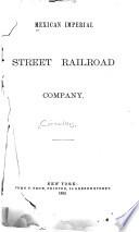 Mexican Imperial Street Railroad Company