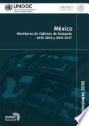 México, Monitoreo de Cultivos de Amapola 2015-2016 y 2016-2017