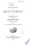 México y no Méjico