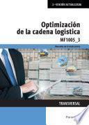 MF1005_3 - Optimización de la cadena logística
