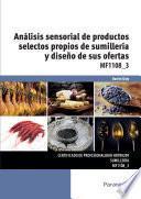 MF1108_3 - Análisis sensorial de productos selectos propios de sumillería y diseño de sus ofertas