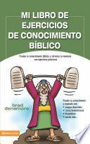 Mi libro de ejercicios de conocimiento bíblico