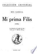 Mi prima Filis, novela