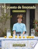 Mi puesto de limonada (My Lemonade Stand) (Spanish Version)