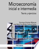 Microeconomía inicial e intermedia
