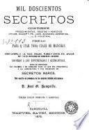 Mil doscientos secretos
