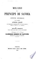 Milano ed i principi di Savoia