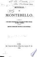 Mineral de Montebello