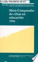 Mini-compendio de cifras en educación