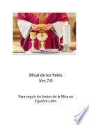 Misal completo, Español-Latín