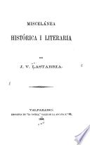 Miscelánea histórica i literaria