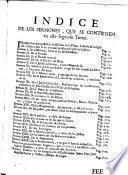 Missiones y sermones del Padre Pedro Calatayud ... de la Compañia de Jesus ...