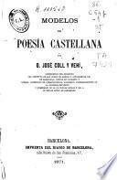 Modelos de poesía castellana
