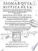 Monarquia Mistica de la Iglesia ...