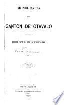 Monografía del Cantón de Otavalo