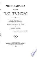 Monografía del fundo Lo Tunca