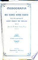 Monografía ó breu descripció histórico-geográfica de la vila y parroquia de Sant Martí de Malda (provincia de Lleyda y arquebisbat de Tarragona)