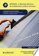 Montaje eléctrico de instalaciones solares térmicas. ENAE0208