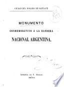 Monumento conmemorativo a la bandera nacional argentina