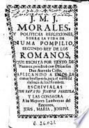 Morales y politicas reflexiones sobre la vida de Numa Pompilio, segundo rey de los romanos