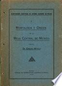 Morfologia y origen de la Mesa central de Mexico