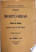 Mortuorias de Alajuela y Heredia, anteriores al año de 1851