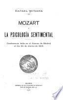 Mozart y la psicología sentimental