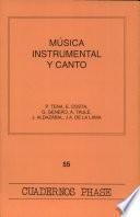 Música instrumental y canto