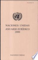 Naciones Unidas Anuario Jurídico 2000