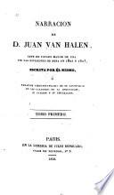 Narración de D. Juan van Halen, gefe de estado mayor de una de las divisiones de mina en 1822 y 1823