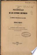 Necesidad de los estudios históricos para la perfecta inteligencia de las leyes