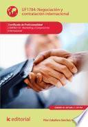 Negociación y contratación internacional. COMM0110